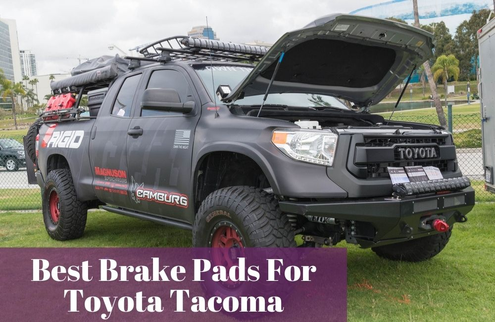 Get the most used and trusted brake pads and rotors for your Toyota Tacoma.