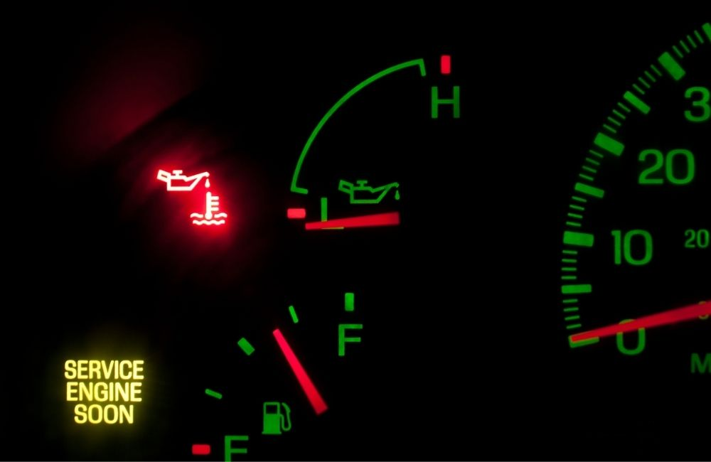 What does the oil light mean?